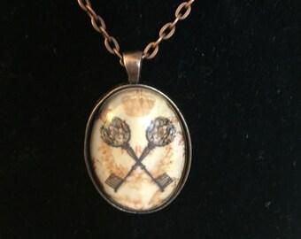 Royal Palace Keys Necklace