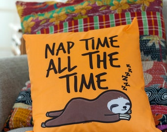 Nap All The Time Cushion