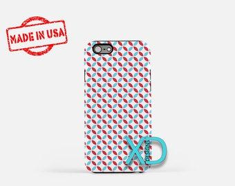 Flower Petal Phone Case, Flower Petal iPhone Case,  Floral iPhone 7 Case, Red, Blue, Floral iPhone 8 Case, Petal Tough Case, Clear Case