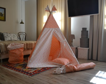 Wigwam for kids, pour les enfants, kids teepee, Kids Tent, Tipi, play