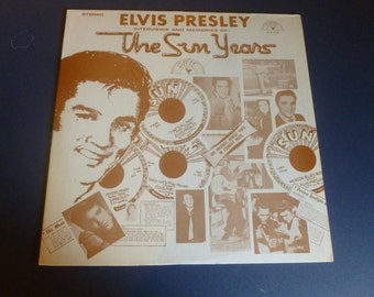 Elvis Presley Interviews and Memories The Sun Years Vinyl Record SUN 1001 1977