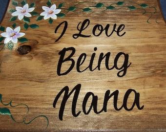 Personalized Grandma Sign