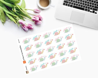 SNAIL MAIL Planner Stickers CAM00087