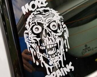 Return Of the Living Dead TarMan Silhouette Indoor/Outdoor Vinyl Decal