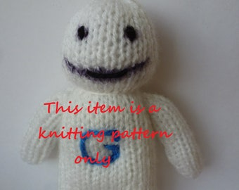 PDF knitting pattern: Greendale Human Being (Community)