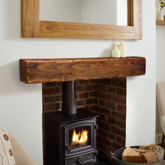 Mantel Fireplace Mantel 6x6 Mantle Rustic Mantle