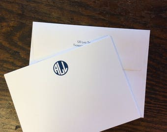 Personalized Note Cards with Envelopes