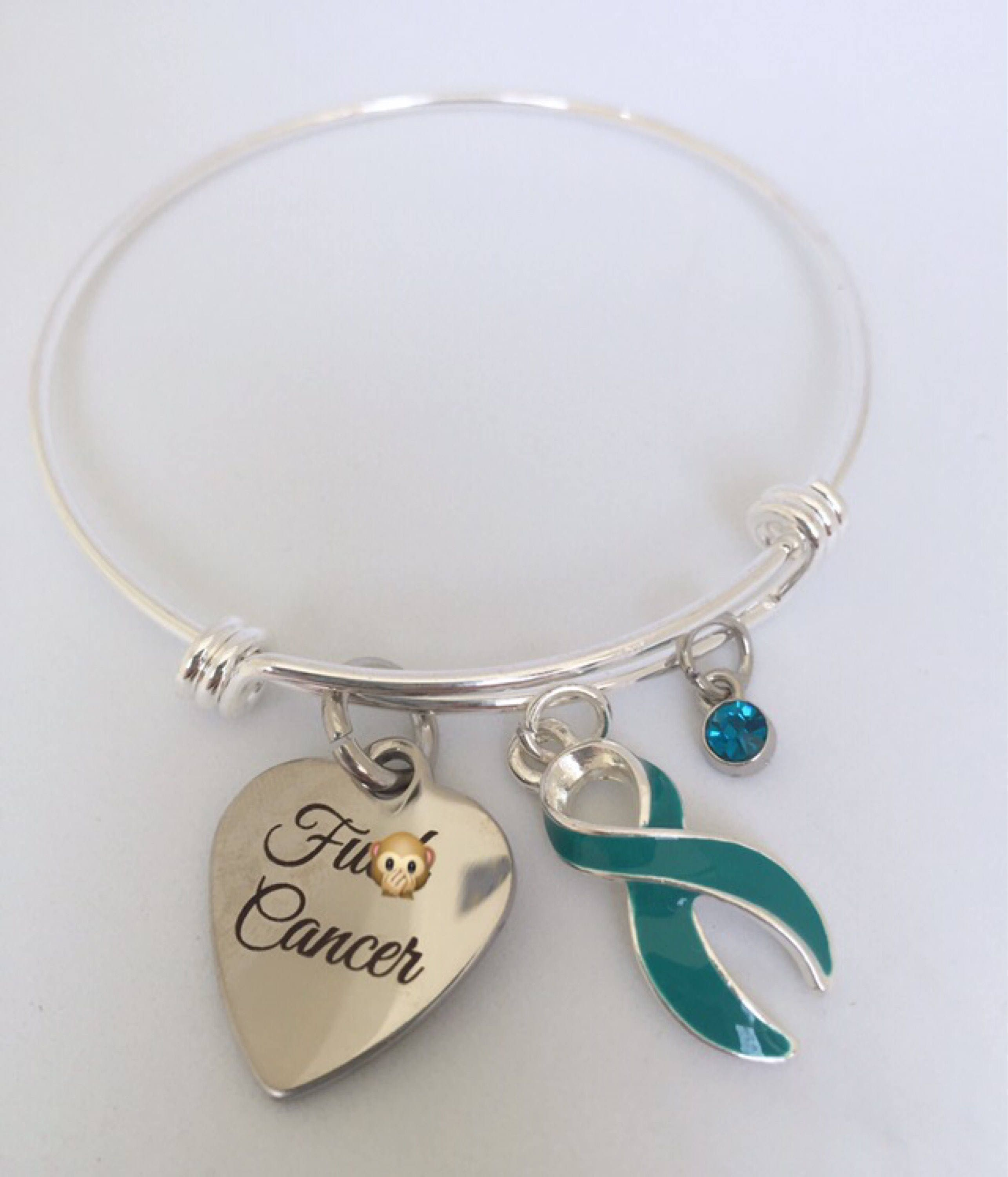ptsd myasthenia by awareness ovarian bracelet gravis cancer teal pin