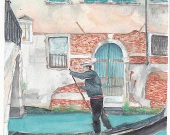 Venice, Italy Watercolor