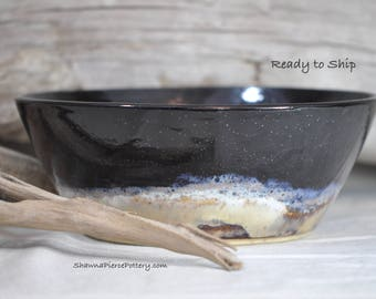 Serving Bowl, Handmade Pottery, Pottery, Handmade, Large Bowl, Pasta Bowl, Salad Bowl, Stoneware, Ceramics, Serving, Functional, Dinnerware