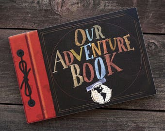"""Ellie Badge with """"OUR"""" Adventure Book"""