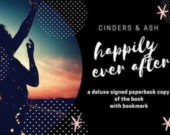 Cinders & Ash paperback novel - signed