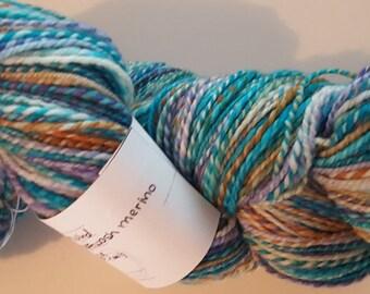 Handspun Yarn 100% Superwash Merino - 308yds