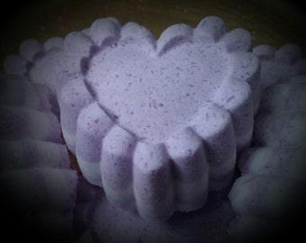 Lilac Bath Bomb / Bath Fizzies / Large Bath Bomb / Non GMO Bath Bomb / Vegan Bath Bomb / Cruelty Free Bath Bomb / Natural Bath Bomb / Purple
