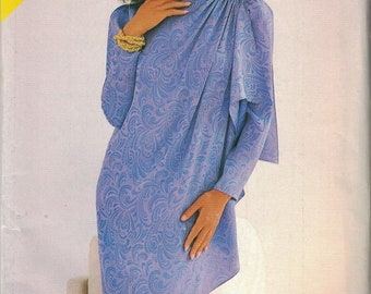 5541 Butterick Misses Sewing Pattern UNCUT Loose Fitting Straight Dress See & Sew 20 22 24