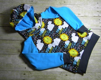 You Are My Sunshine Kids Hoodie Size 4T