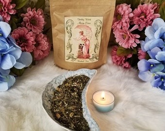Moon Ease Tea For Woman, Herbal Tea Blend, Certified Organic Herbal Tea, Monthly Tea, Time of the Month Tea