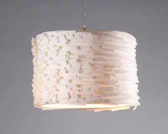 Hanging lamp Luccia M white