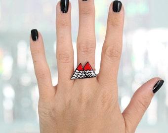 Twin Peaks Black Lodge verstellbarer Ring