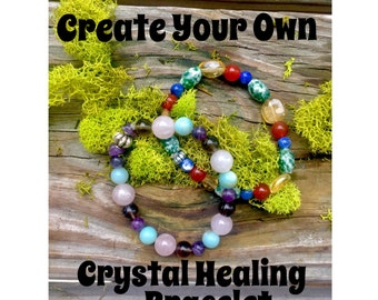 Create your own Healing Crystal Bracelet