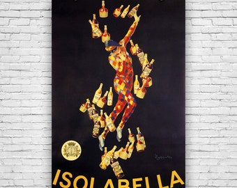 Isolabella, by Artist Leonetto Cappiello, 1910 - Art Print Poster
