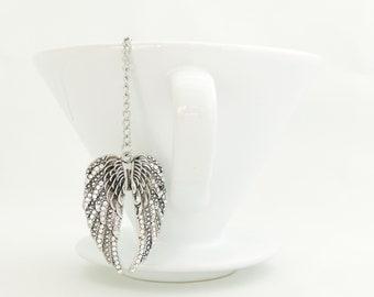 Angels Wings Loose Tea Infuser Tea Strainer Mesh Ball Loose Leaf Tea