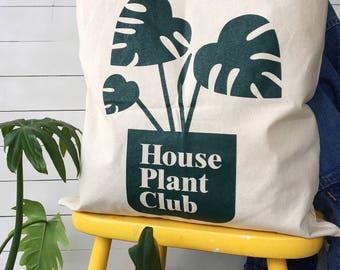 House Plant Club Tote Bag