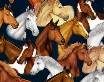 Mustang Sunset 26483 N QT 100% cotton fabric