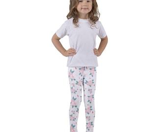 Kid's leggings - Roses & Strawberries