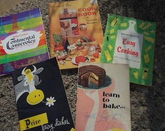 Five Cooking Pamphlets