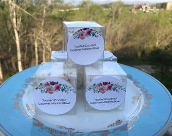 Set of 10 Gourmet Marshmallow Favors