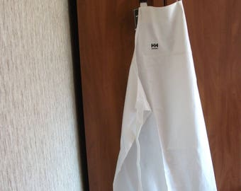 Apron Industrial, Plain work apron, wax-cloth apron, overalls, waterproof apron, fishing clothing