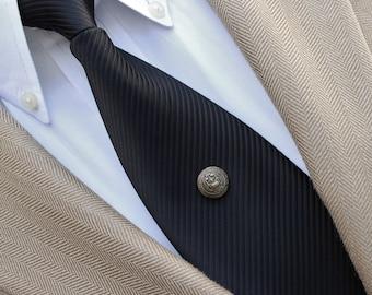 Mens Tie Pin, Mens Bronze Tie Tack, Antique Bronze Tie Pin, Tie Clips for Men, Mens Accessories, Tie Tacks, Tie Pins for Men, Mens Tie Tack