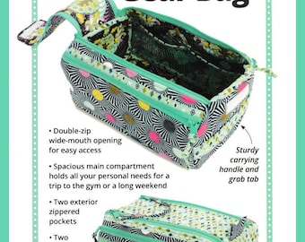 Double Zip Gear Bag - Pattern byAnnie with FREE Shipping