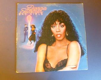 Donna Summer Bad Girls Vinyl Record LP NBLP-2-1750 Double Album  Casablanca Records 1979