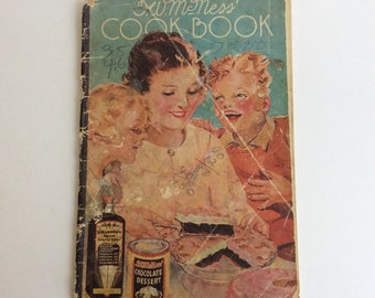 Vintage Furst-McNess Company Cookbook Booklet