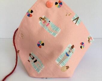 BENTO BAG Yarn Ball and Cake holder Knitting and Crochet