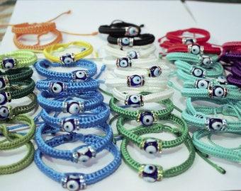 Turkish Amulet Bracelet, Turkish Nazar Bracelet, Evil Eye Bracelet, Talisman Bracelet, Gift for Lover, Christmas Gift, New Year Gift, Amulet