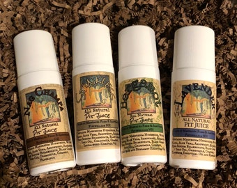 ROLL ON Deodorant, Extra Strength, 3 oz Roll on, Nag Champa, Lavender, Bergamot, Stinkless, Vegan Friendly