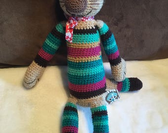 Crochet Funny cat