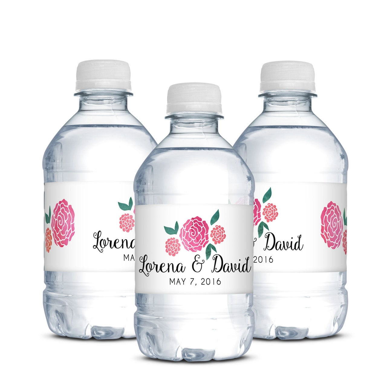 Enchanting Wedding Favor Water Bottles Image Collection - The ...