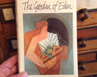 Le jardin d'Eden par Ernest Hemingway, livre Vintage, livre relié, livre Collector cadeau, livre classique, livre de collection,