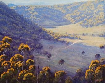 Large landscape large painting large oil painting large original painting