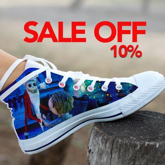jack custom skellington converse and jack nightmare christmas nightmare  shoes shoes before halloween converse christmas sally 310de0d65429