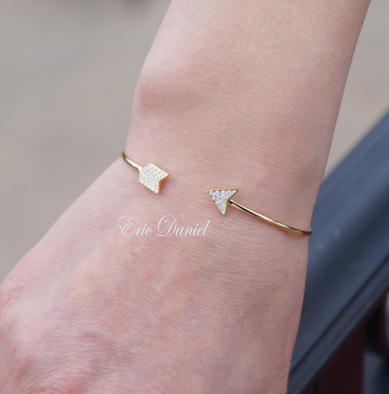 in your chupi dreams bracelet arrow products gold follow