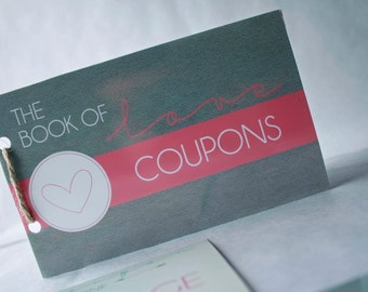 Printable Love Coupons - Instant Download - Christmas Add On Gift for Husband Boyfriend Wife Girlfriend