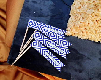 Egyptian Party Flags Moroccan-Inspired Birthday Printable Decor