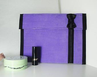 Clutch purse, Chic Velvet