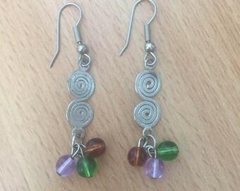 Cute Bead Earrings
