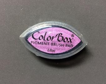 Lilac Color Box Pigment Brush Pad